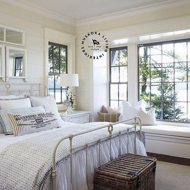 Beach Home Interior Design Ideas:  Home Decor Bedrooms : Cottage Bedroom. Coastal Muskoka