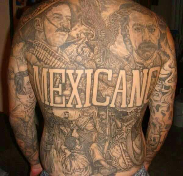 Mexican pride chikanoo pinterest pride for Mexican pride tattoos
