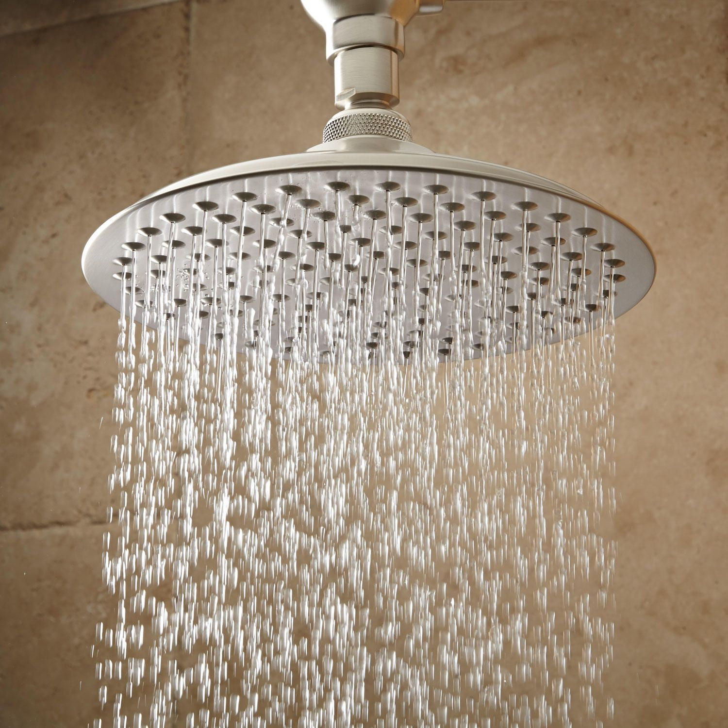 Bostonian Rainfall Shower Head With S Type Arm