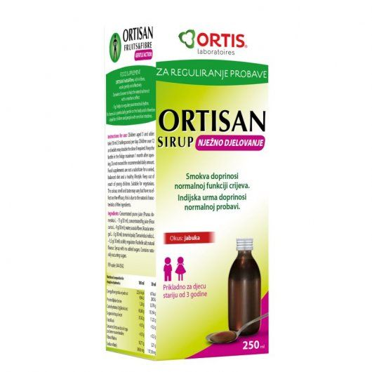 Ortisan Sirup Kids Moja Online Ljekarna Coner Toothpaste Personal Care Kids