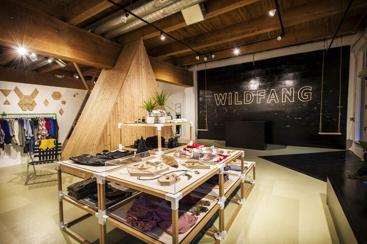 Wildfang Flagship Store Portland Oregon With Images Retail Design Portland Shopping
