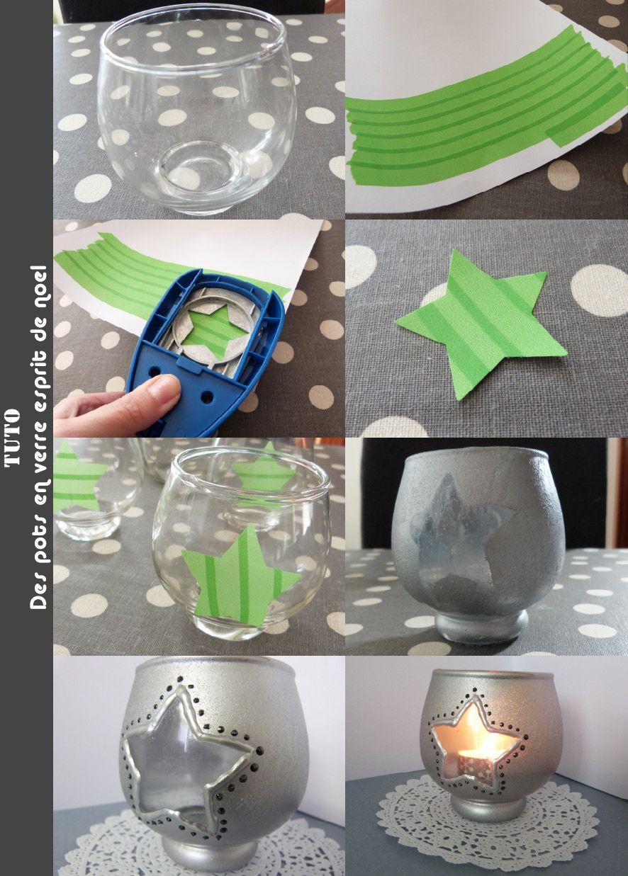 des pots en verre récup et personnalisés | activité manuelle