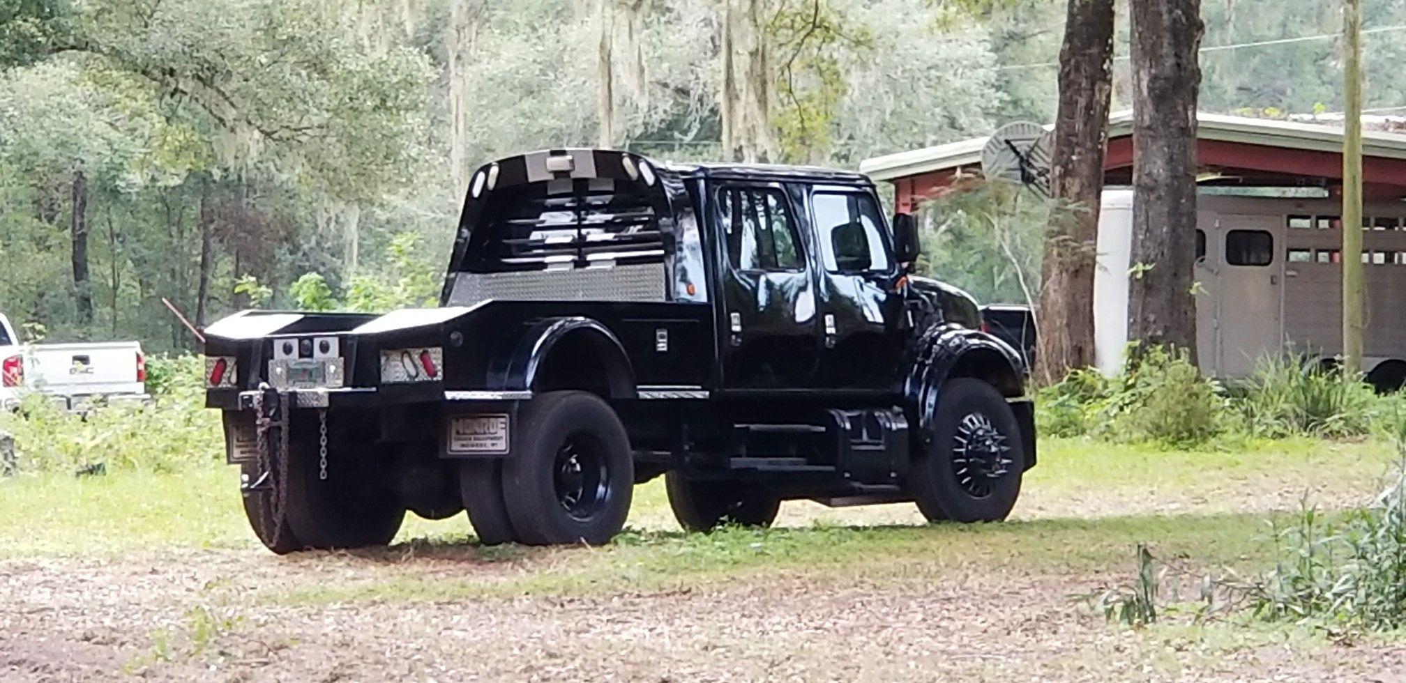 International 4700 Custom Pickup By Secret Six Motorsports Heavy