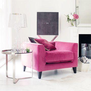 I love how feminine this clean modern setting is! | Great Furniture ...