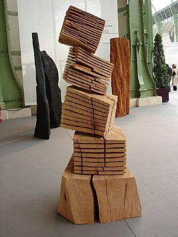 David Nash Brilliant British Sculptor Wood Sculpture