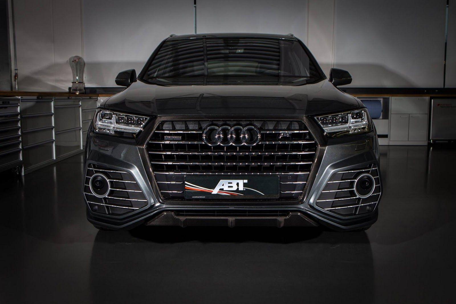 Abt Releases New Qs7 Pics Finally Shows Off Interior Carscoops Audi Q7 Audi Q7 Black Audi