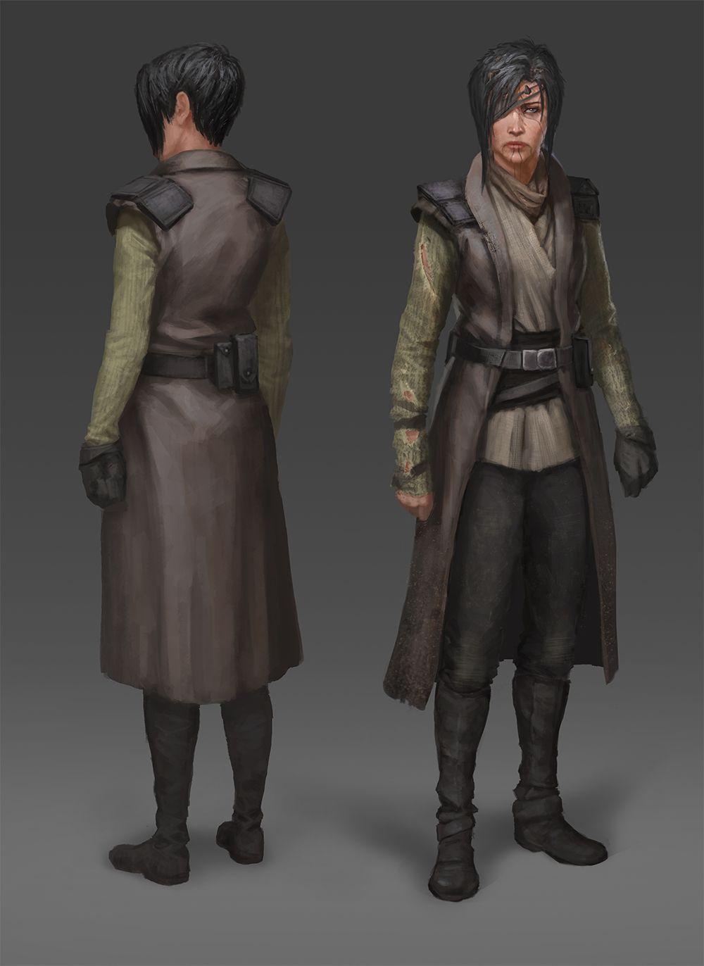 Star Wars Character Concept Art