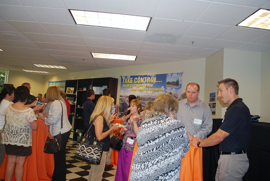 We had a wonderful time co-hosting the Summer Solstice Celebration mixer last week! #mixer #events