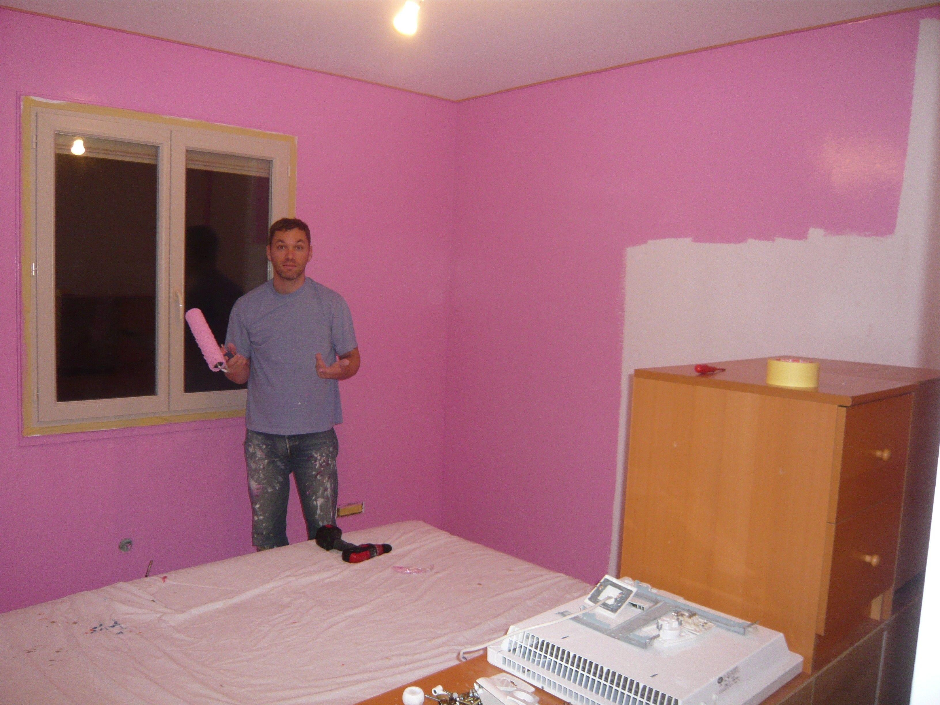47+ Peinture rose chambre fille trends