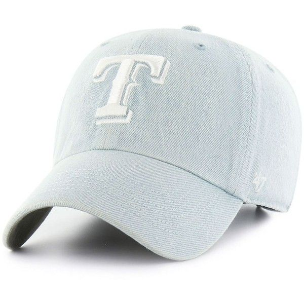 47 brand texas rangers all denim clean up cap 30 liked on