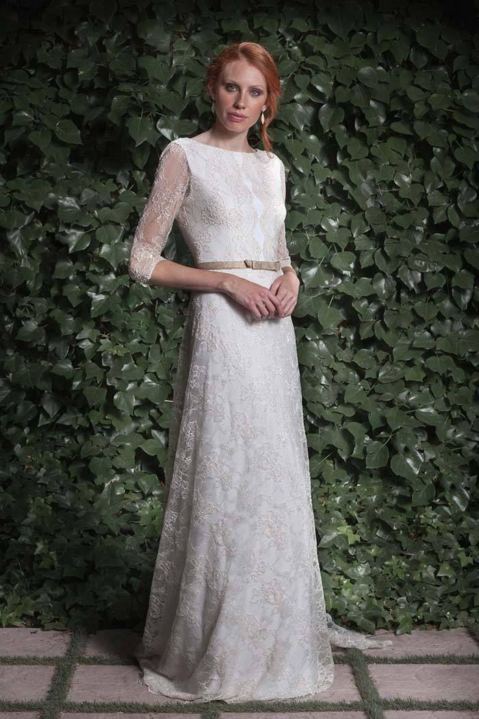Disenadores de vestidos de novia franceses