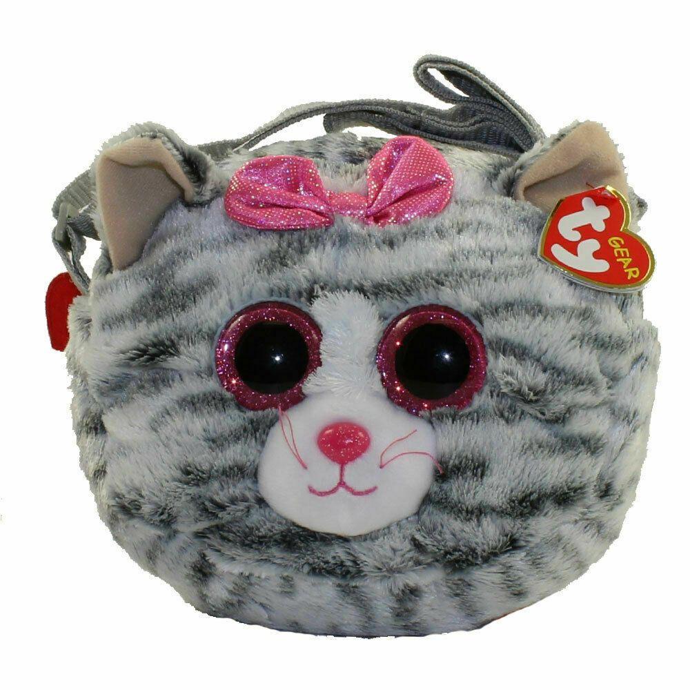 Ty Beanie Boo 8 Kiki The Cat Gear Plush Stuffed Animal Toy Purse W Strap Mwmts Plush Stuffed Animals Ty Beanie Boos Pet Toys [ 1000 x 1000 Pixel ]