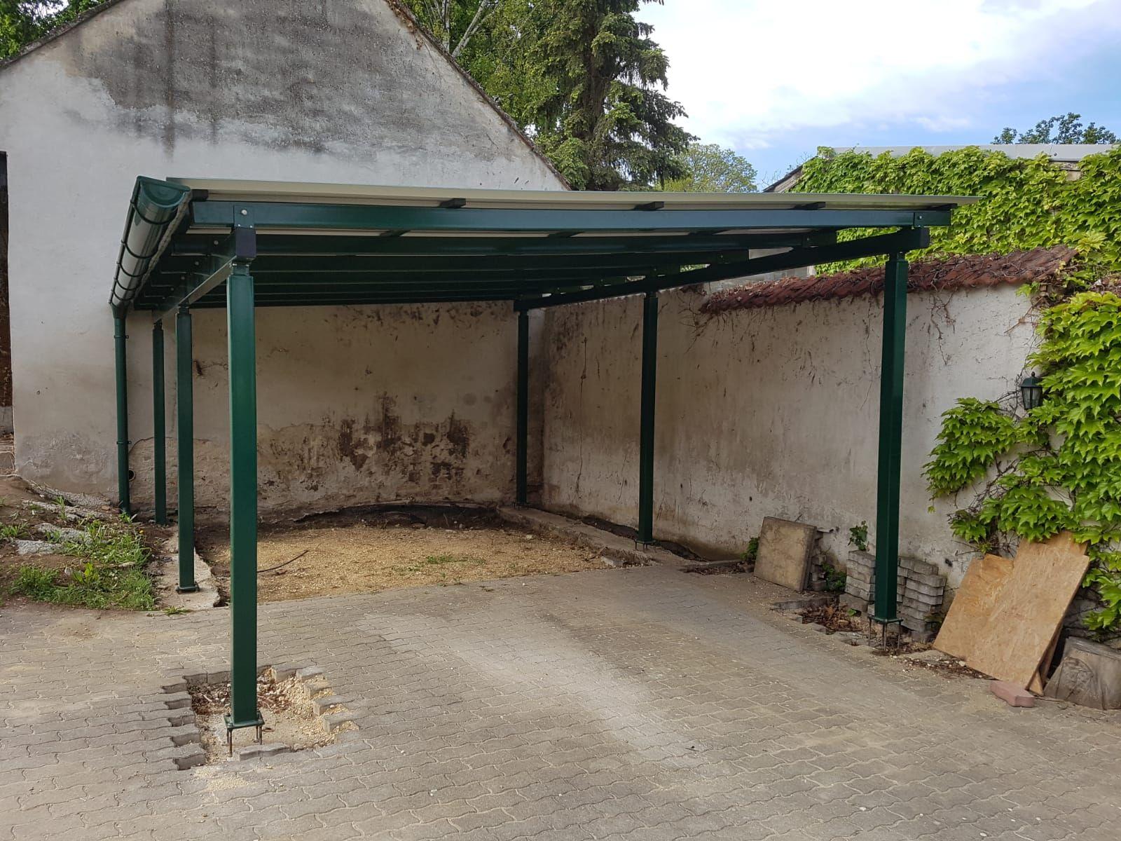 Carport Als Alternative Zur Garage Wir Klaren Sie Auf Carport Stahl Carport Carport Holz
