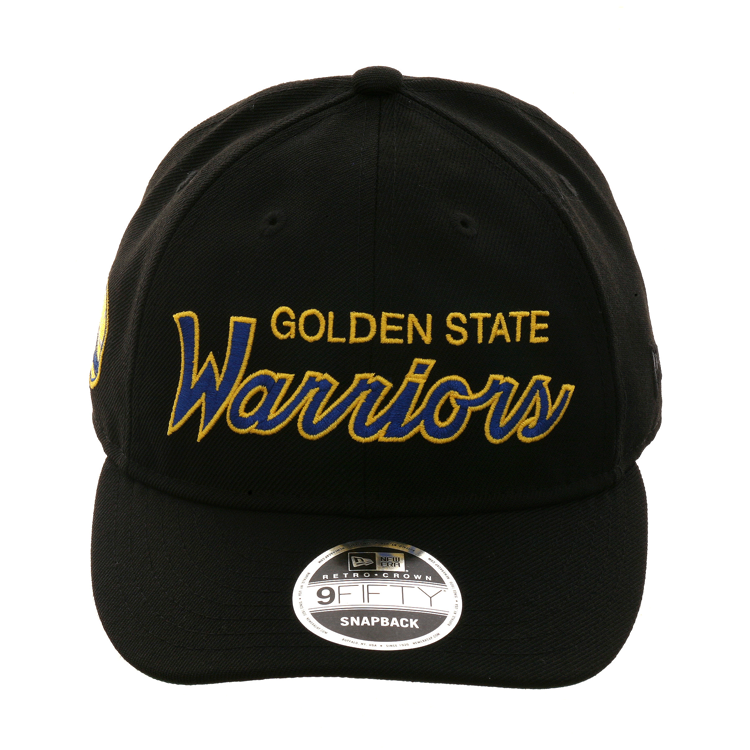 19a626b5a167fa New Era 9fifty Golden State Warriors Retro Crown Snapback Hat - Black,  Royal, Gold, $ 29.99
