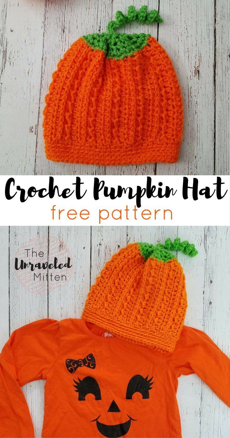 Crochet pumpkin hat pattern pumpkin hat free crochet and mittens crochet pumpkin hat pattern bankloansurffo Image collections