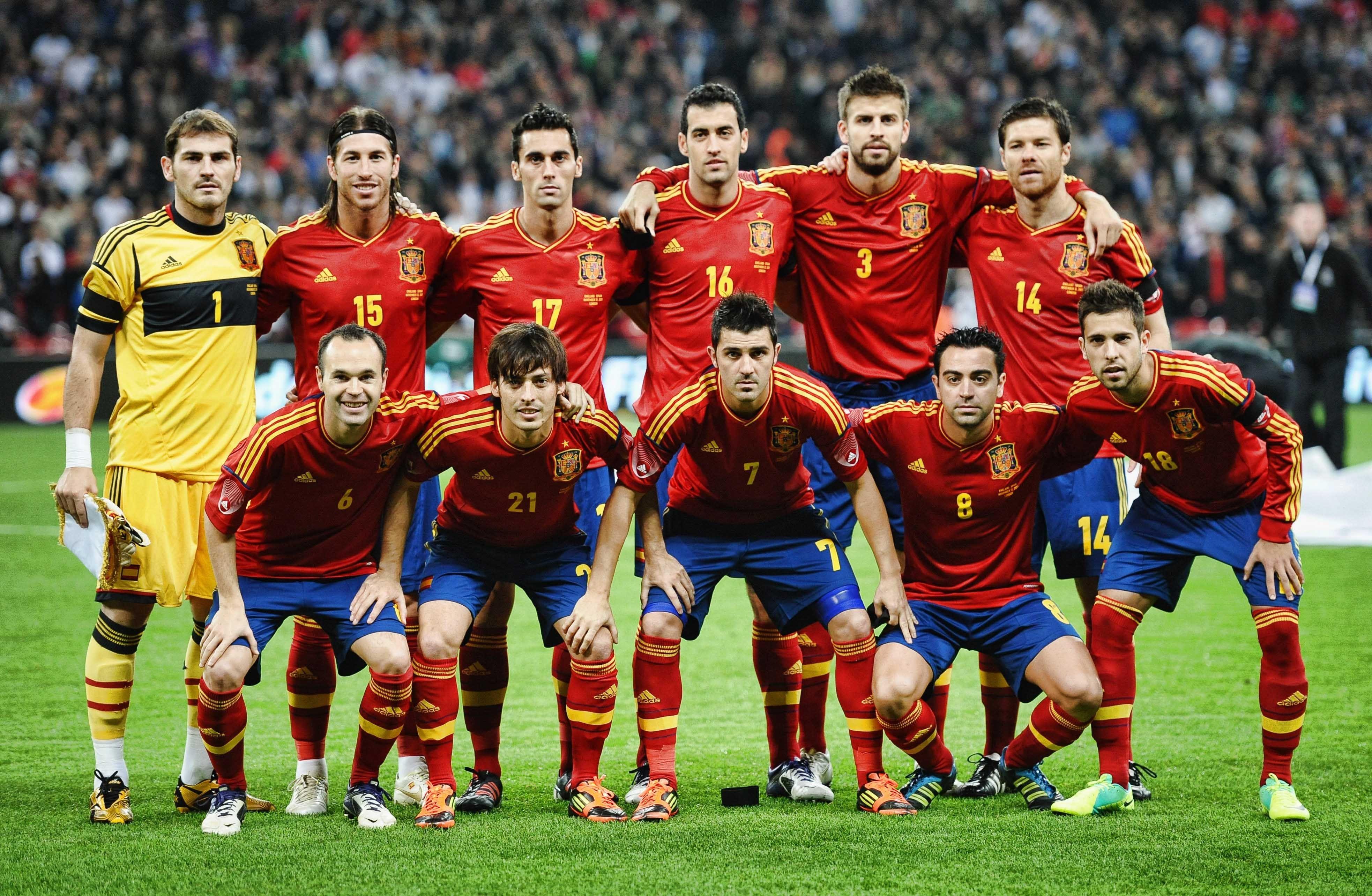 K Wallpaper Spain National Football Team X