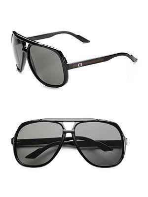 b1e57ad89ea Love! Gucci - Navigator Sunglasses - Saks.com