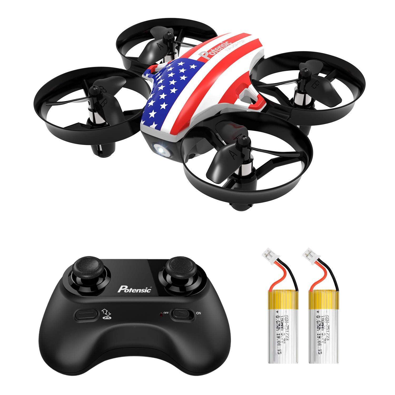Potensic Upgraded A20 Mini Drone Easy to Fly Even to Kids