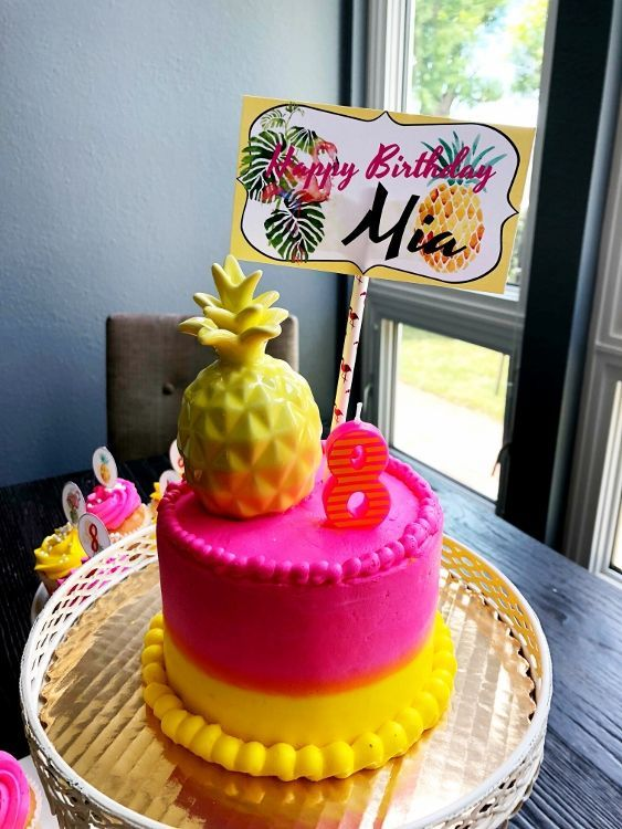 Flamingo And Pineapple Birthday Party Food Drink Recipes Ideas