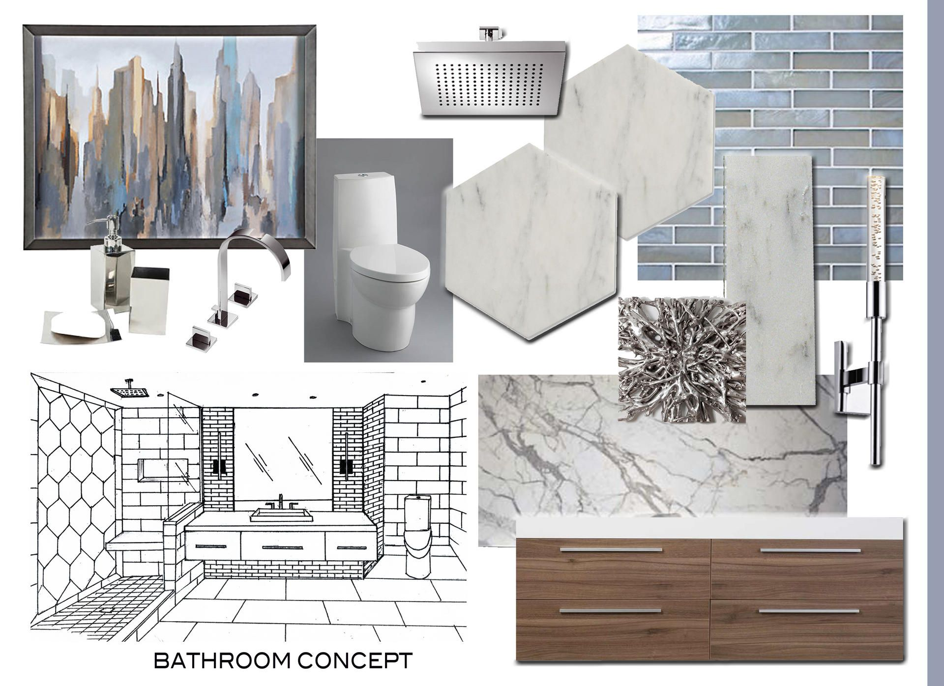 Bathroom Design Board bathroom mood board - google search | thl project - windsor
