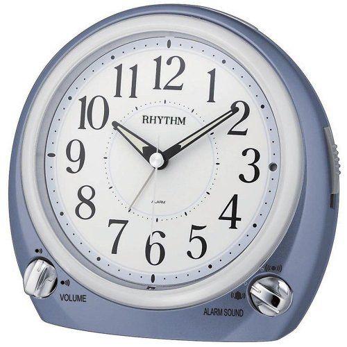 Rhythm 70633/5 Wecker Quarz, blau, extrem leise, Repetition, Licht Jobo http://www.amazon.de/dp/B00IOSB112/?m=A37R2BYHN7XPNV