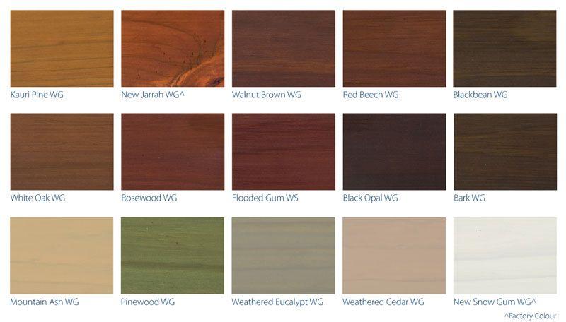 Wattyl stain decking far right dark or light also cedar staining options shingles direct home decor rh pinterest