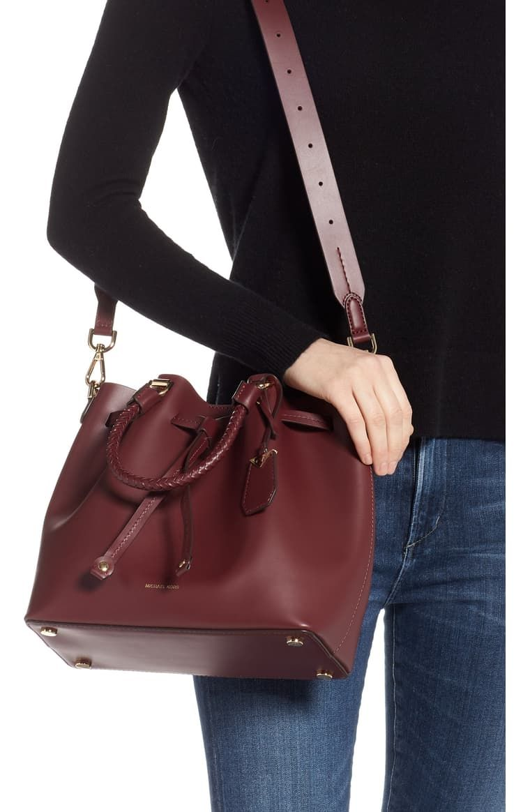 MICHAEL Michael Kors Blakely Leather Bucket Bag | Nordstrom