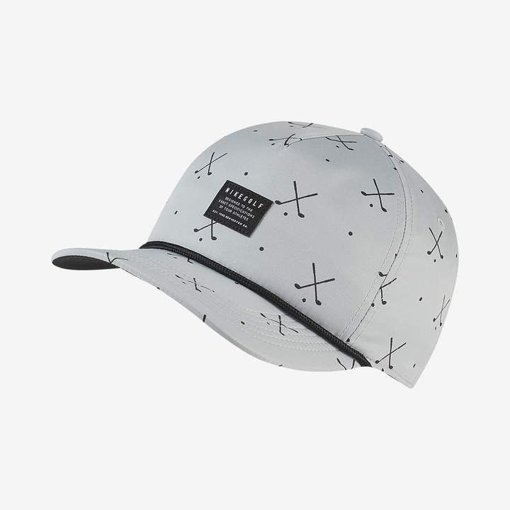 24a44254a57 Nike Printed Golf Hat AeroBill Classic99 in 2019