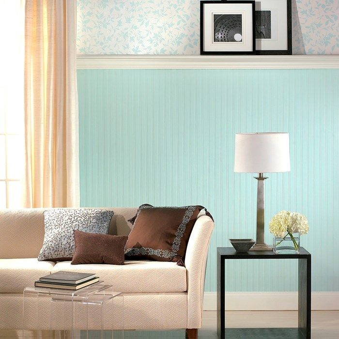 Beadboard Tapete beadboard wallpaper is a white effect design which will give your