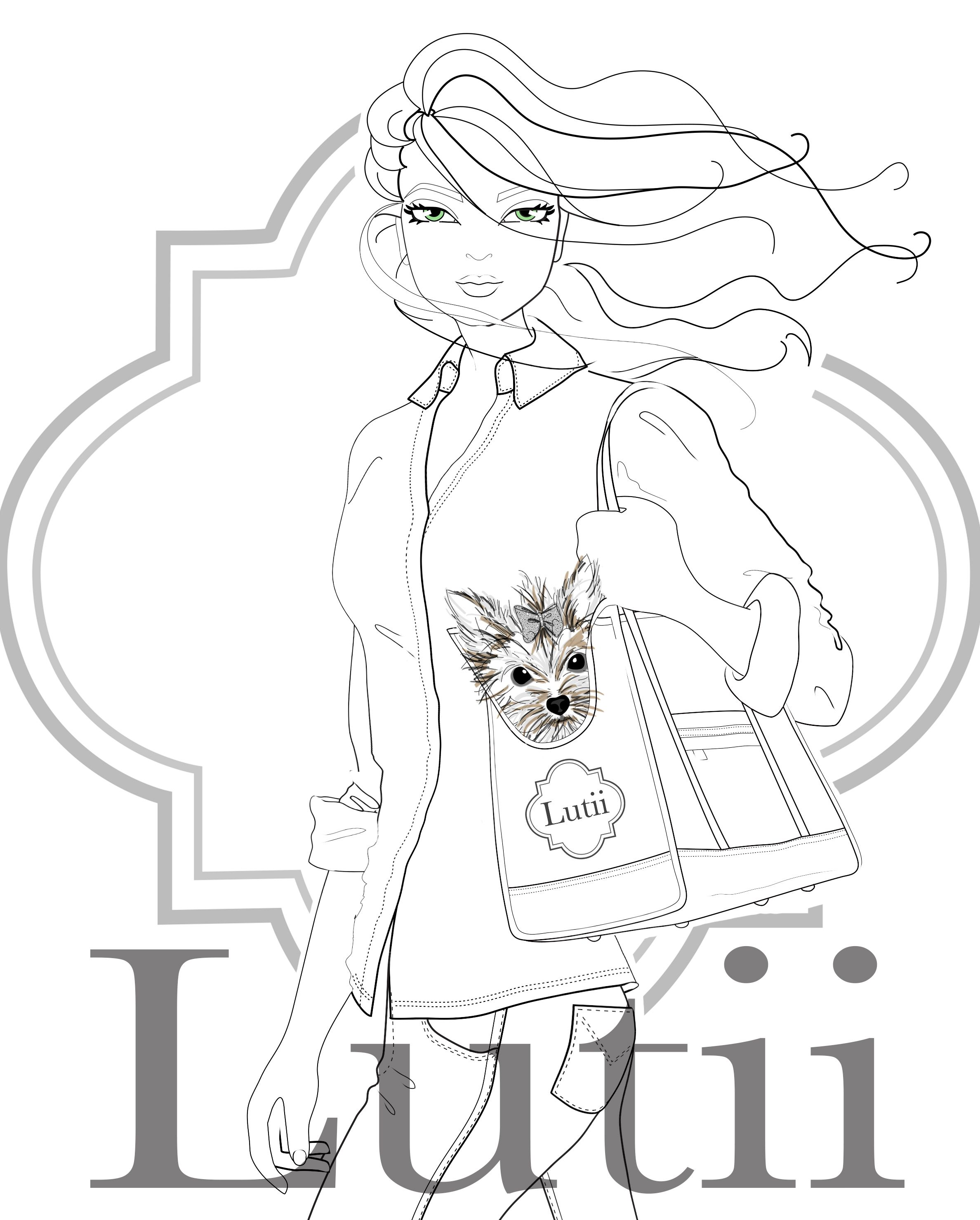 Fashion Amp Dogs Drawing For Our New Tote Bags Dog