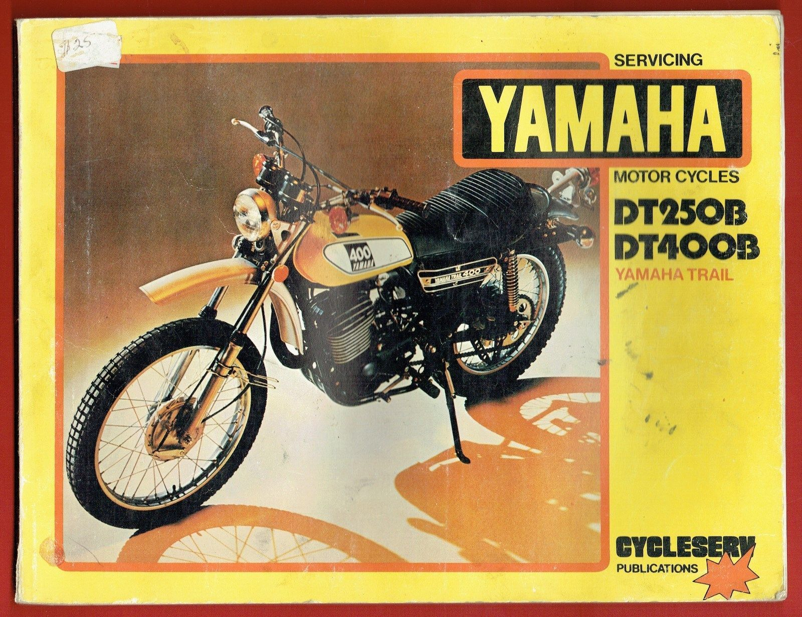 Yamaha DT 250 B DT 400 B Service Manual | eBay Yamaha, Manual, Textbook