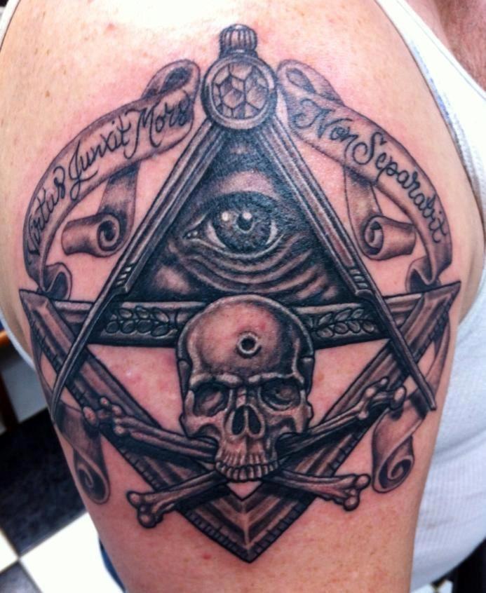 5dfce642e Memento Mori #Masonic #Tattoo | Freemasonry | Illuminati tattoo ...