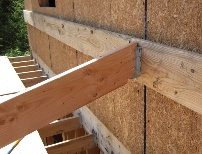 sloped joist hanger - Google Search | Chickens | Pinterest | Shop ideas, Tiny houses and Exterior