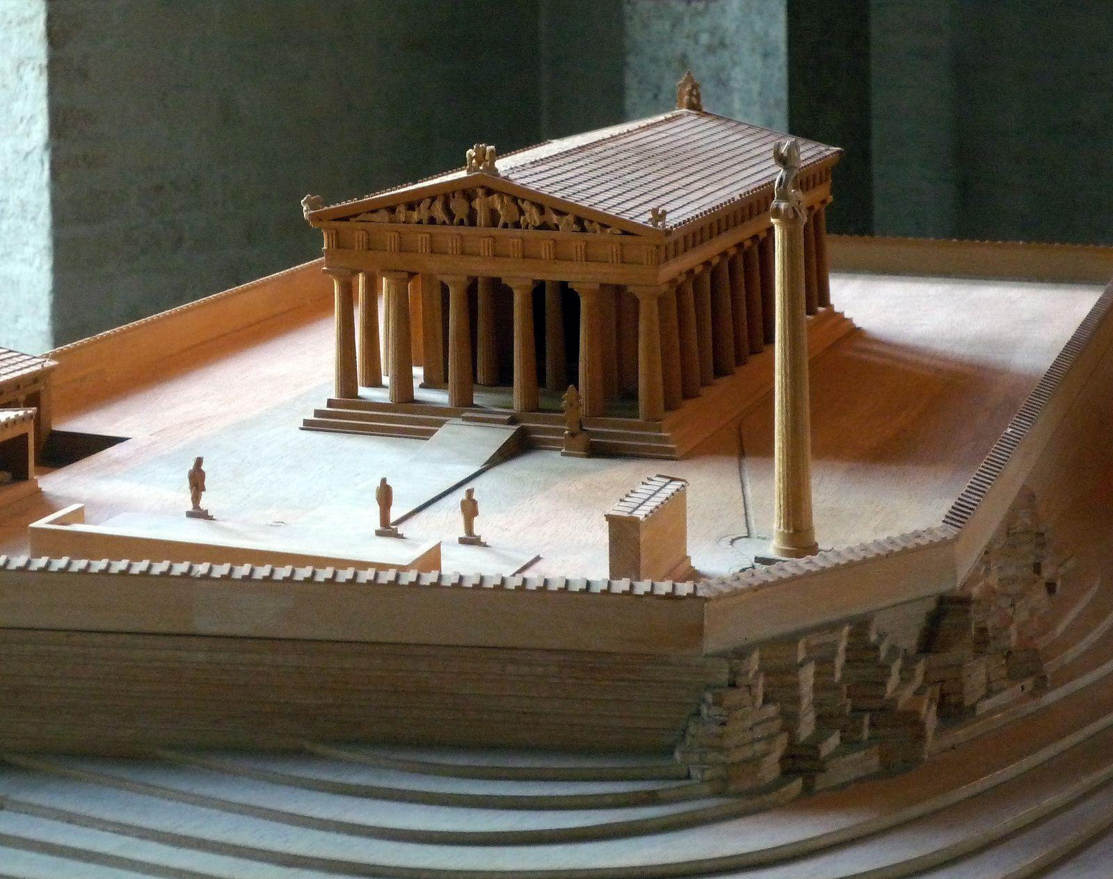Aphaia Acropolis Model