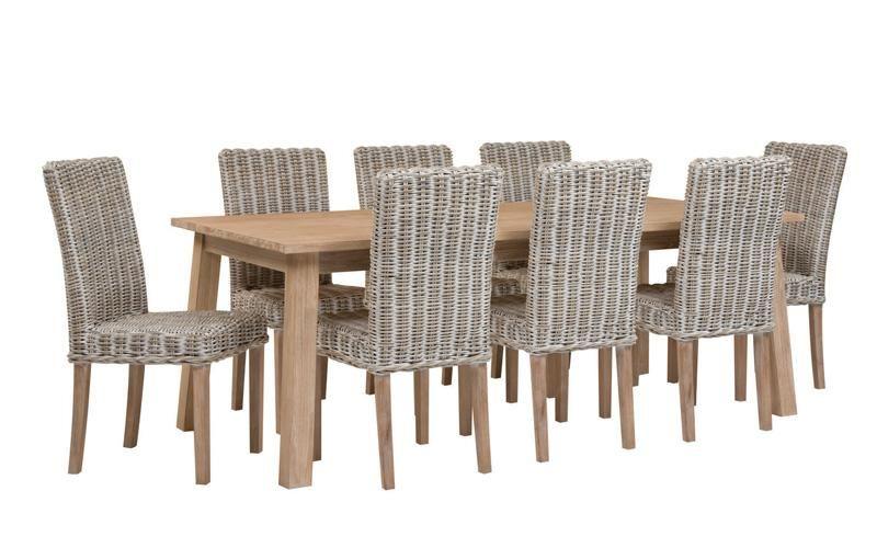 Portsea Dining Table 3 Sizes Largest 1099 Ozdesign