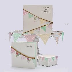 Wedding Stationery Designs bunting_wedding_stationery