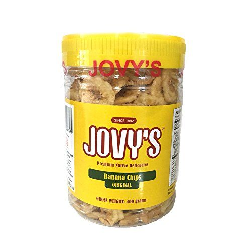 Jovys Sweetened Banana Chips Original Philippines Premium Native