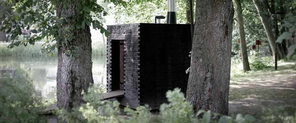 Sauna savu sauna pinterest for Case modulari mediterranee