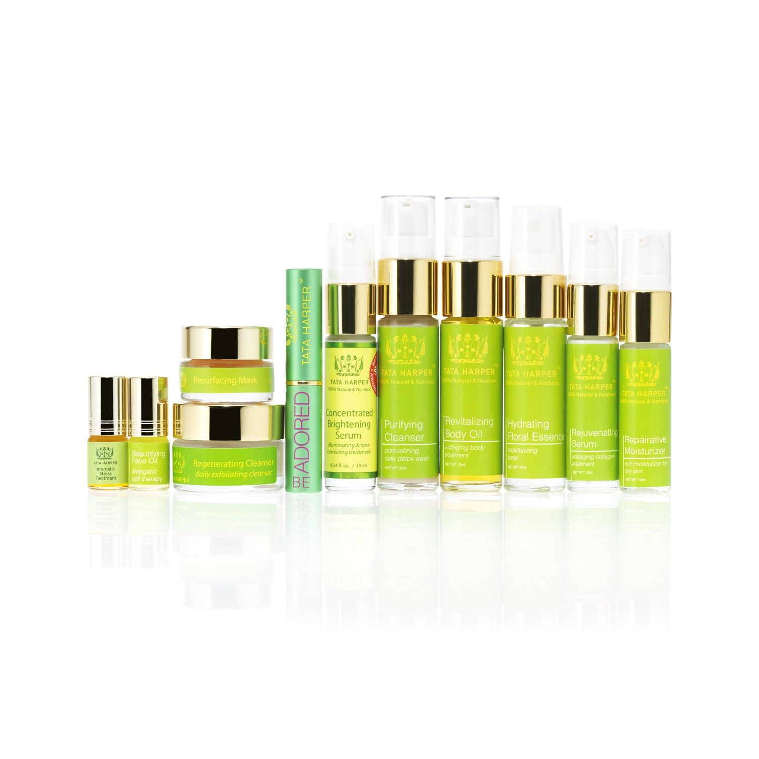 Tata harper best in glow A travel-sized collection of multitasking best-sellers and client favorites for truly radiant looking skin.  $185