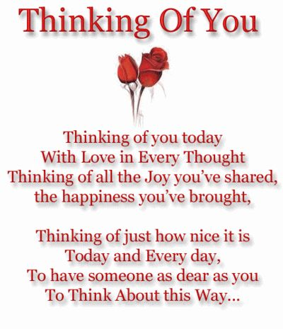 Pin By Deborah Threet On Lovely Greetings Messages Thinking Of You Today Be Yourself Quotes Thinking Of You Images