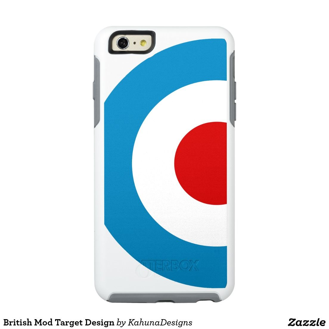 British Mod Target Design OtterBox iPhone 6/6s Plus Case ...