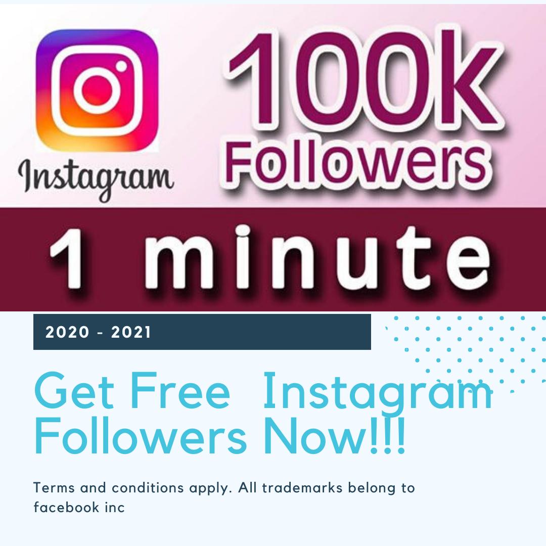 Instagram Followers Generator 2020 Free Instagram Get Instagram Followers Free Followers On Instagram