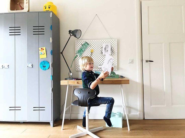 De nieuwe werkplek van finn met ikea bureau lillÅsen