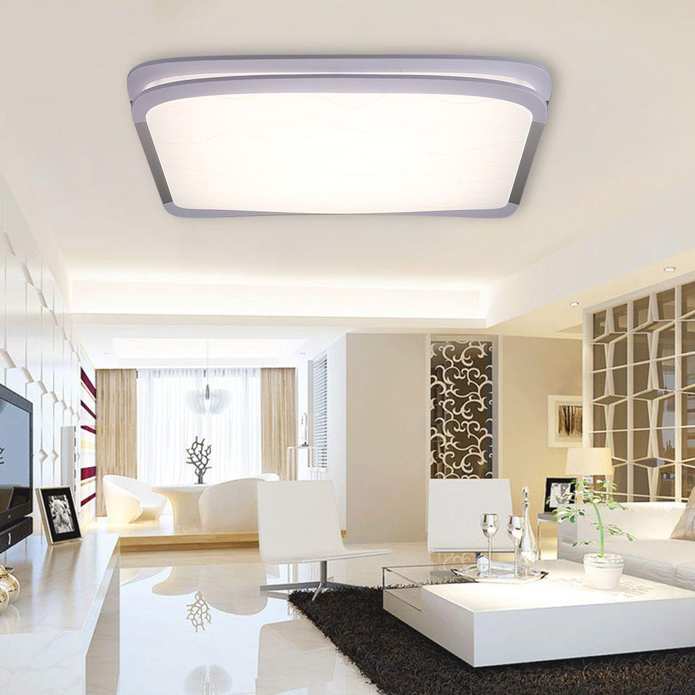 36w Led Techo Luz Inalambrico Lampara Infinito 2 4g Remote Control Salon Cocina Salon Cocina Luces Led