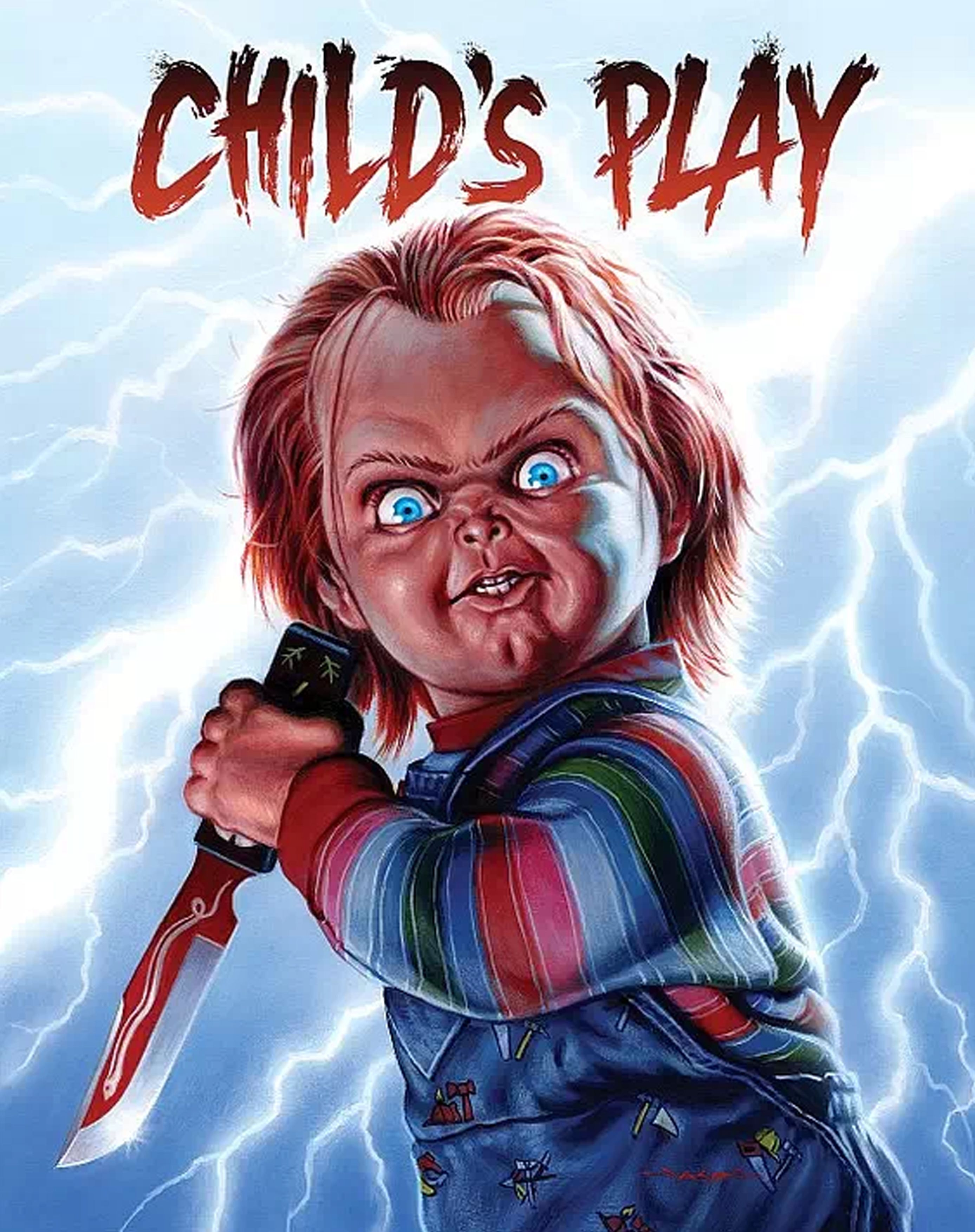 Childs play horror poster classic horror movies horror