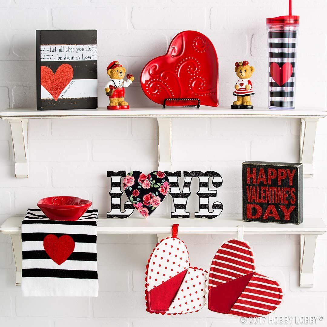 Show Your Space Some Love For Valentine S Day With Darling Decor Diy Valentines Decorations Valentine Day Table Decorations Valentines