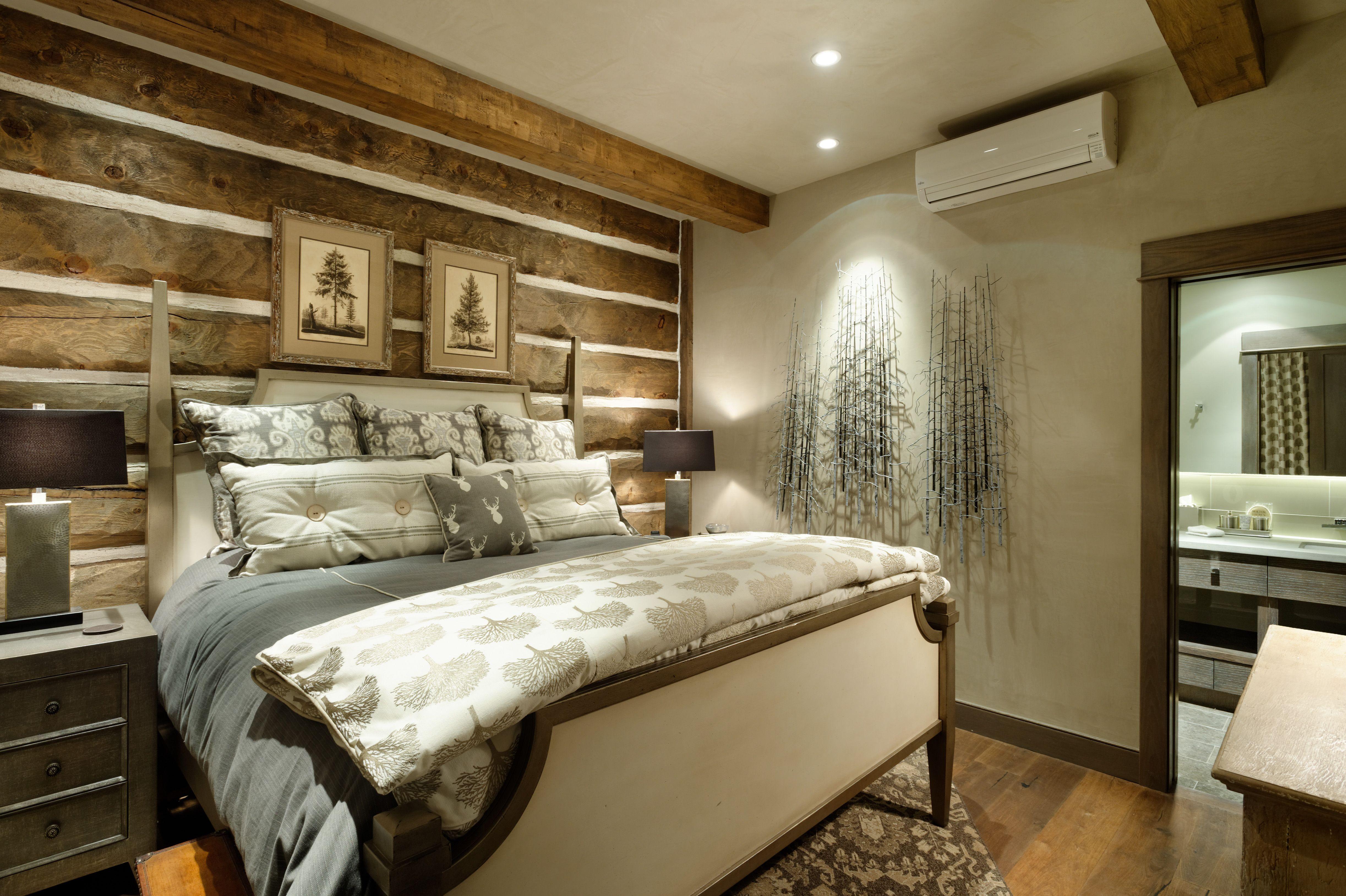 Aspen Log Cabin - Bedroom - Aspen, Co - Cuv