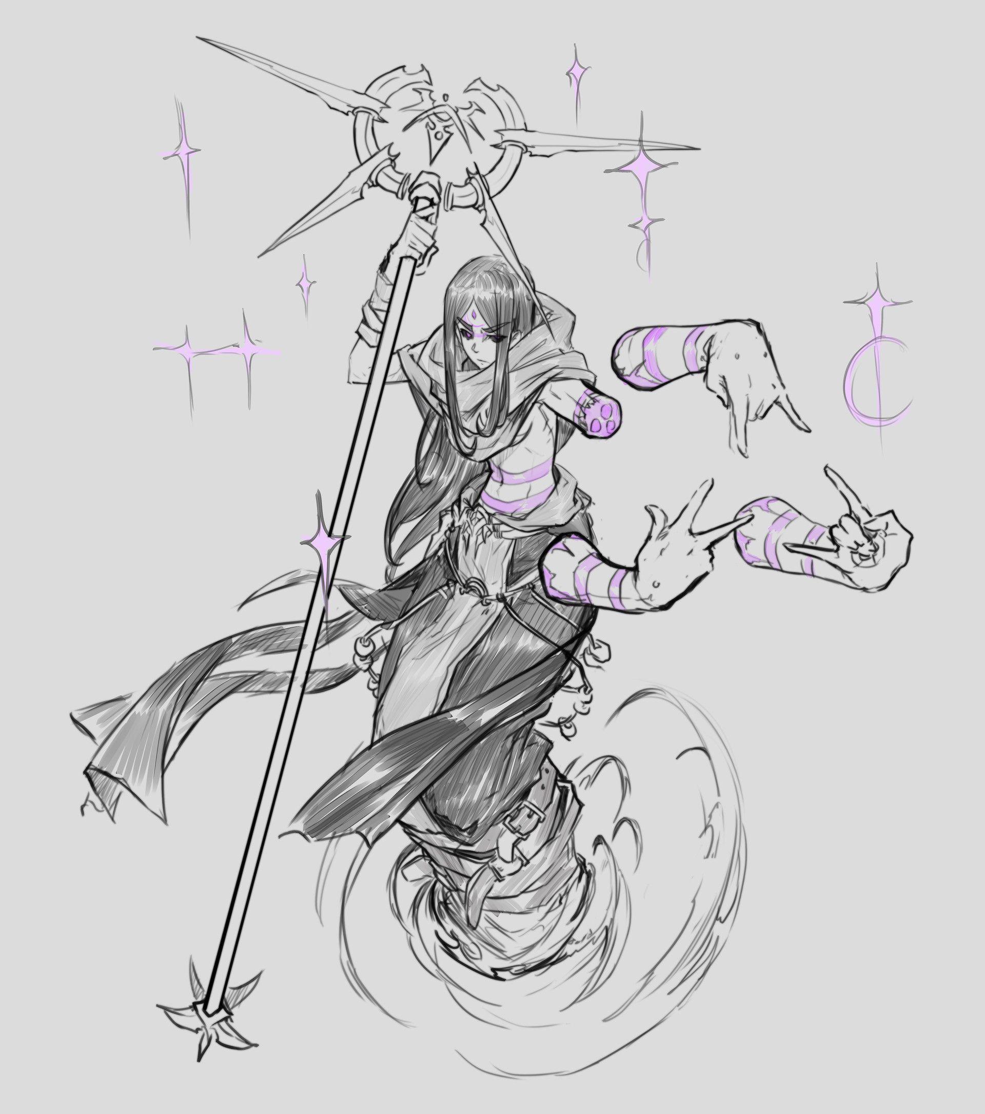 Monster Sketch Dump by Josh Corpuz on ArtStation.