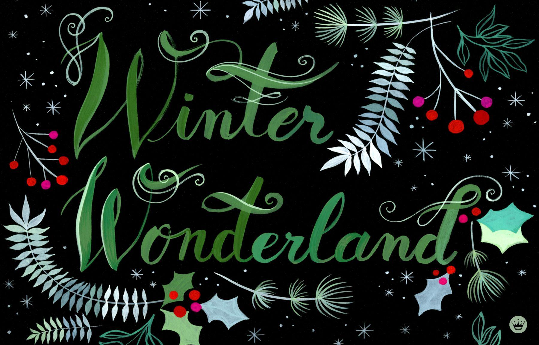 Winter Wonderland Free Holiday Wallpaper Download Hallmark Cards Thinkmakeshar Winter Wonderland Wallpaper Christmas Desktop Wallpaper Winter Wallpaper Desktop