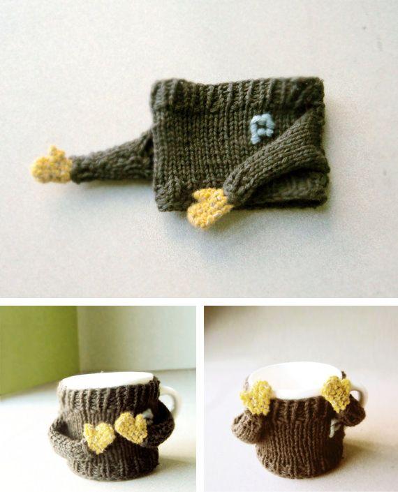 Jersey para taza $17.50 #OMG #mug #teacup | accesorios lana ...